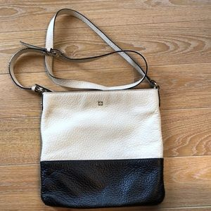 Kate Spade Pebbled Leather Two Tone Crossbody